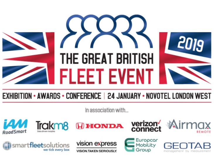 Winners of inaugural Great British Fleet Awards 2019