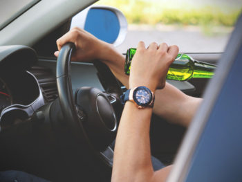 25% felt that driving under the influence of alcohol or drugs was the most reckless offence