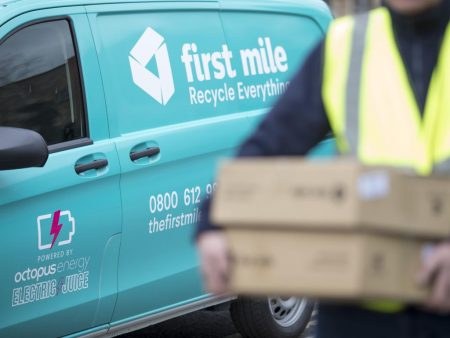 First Mile operates a fleet of electric vans, while Octopus Group has provided the infrastructure to facilitate going electric