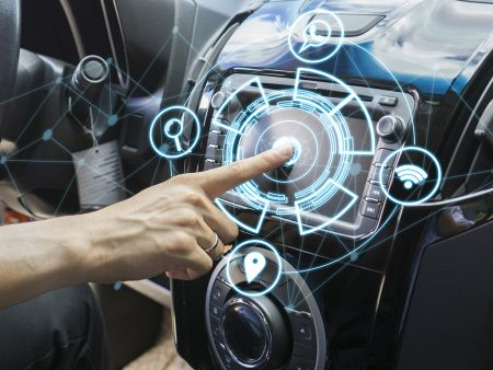 Businesses and fleet managers are recommended to impress on drivers the dangers of being distracted by their in-car tech