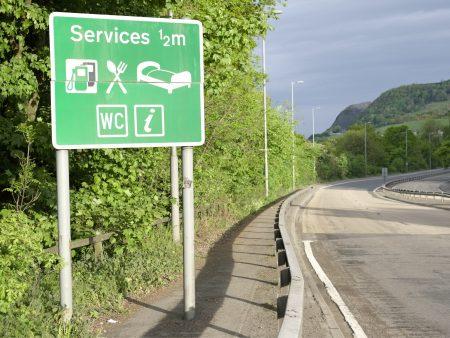 Services motorway