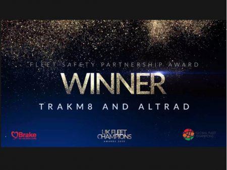 Trakm8 and Altrad award